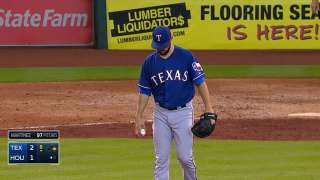 Cotts, Feliz can't hold lead for Texas