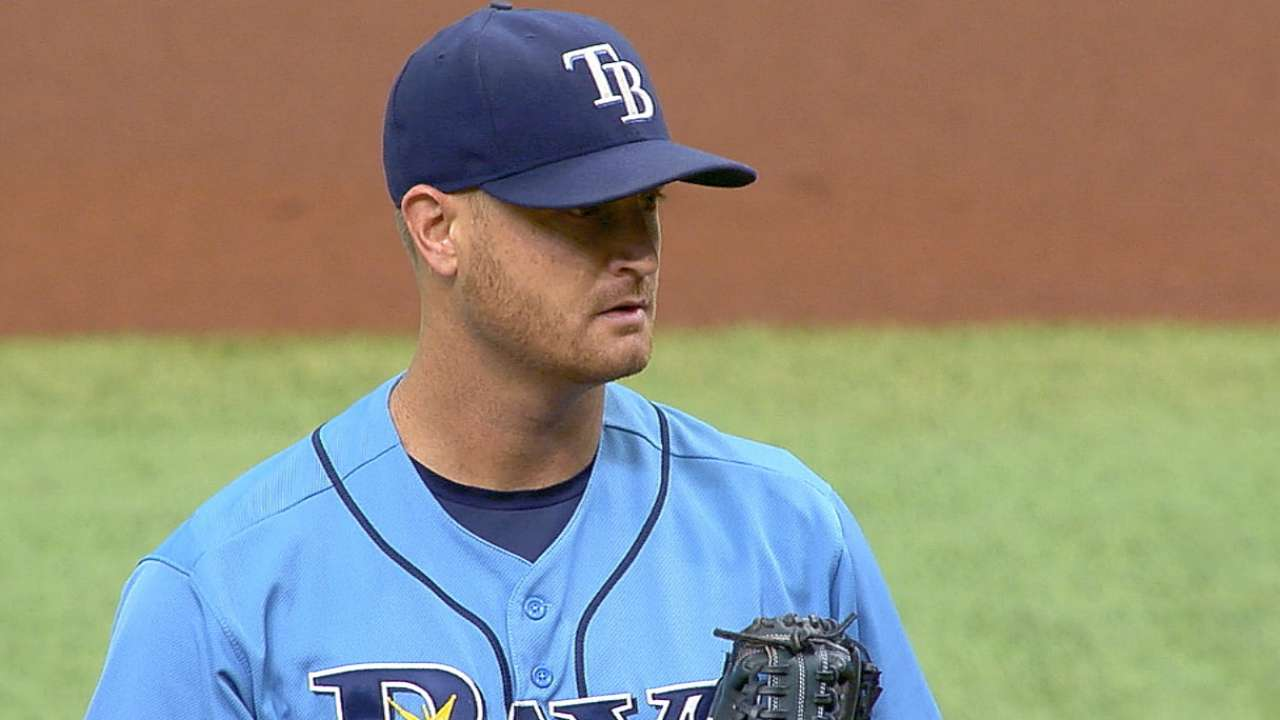Cobb disappointed with Rays' season results