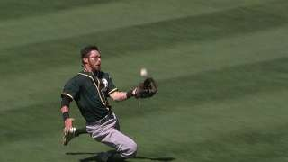 Melvin holds meeting after A's slide extended