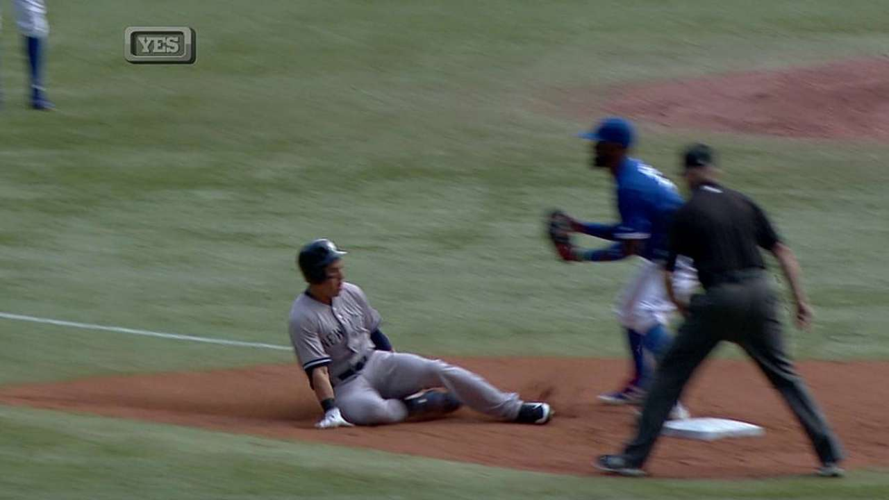 Girardi being cautious with Ellsbury's ankle