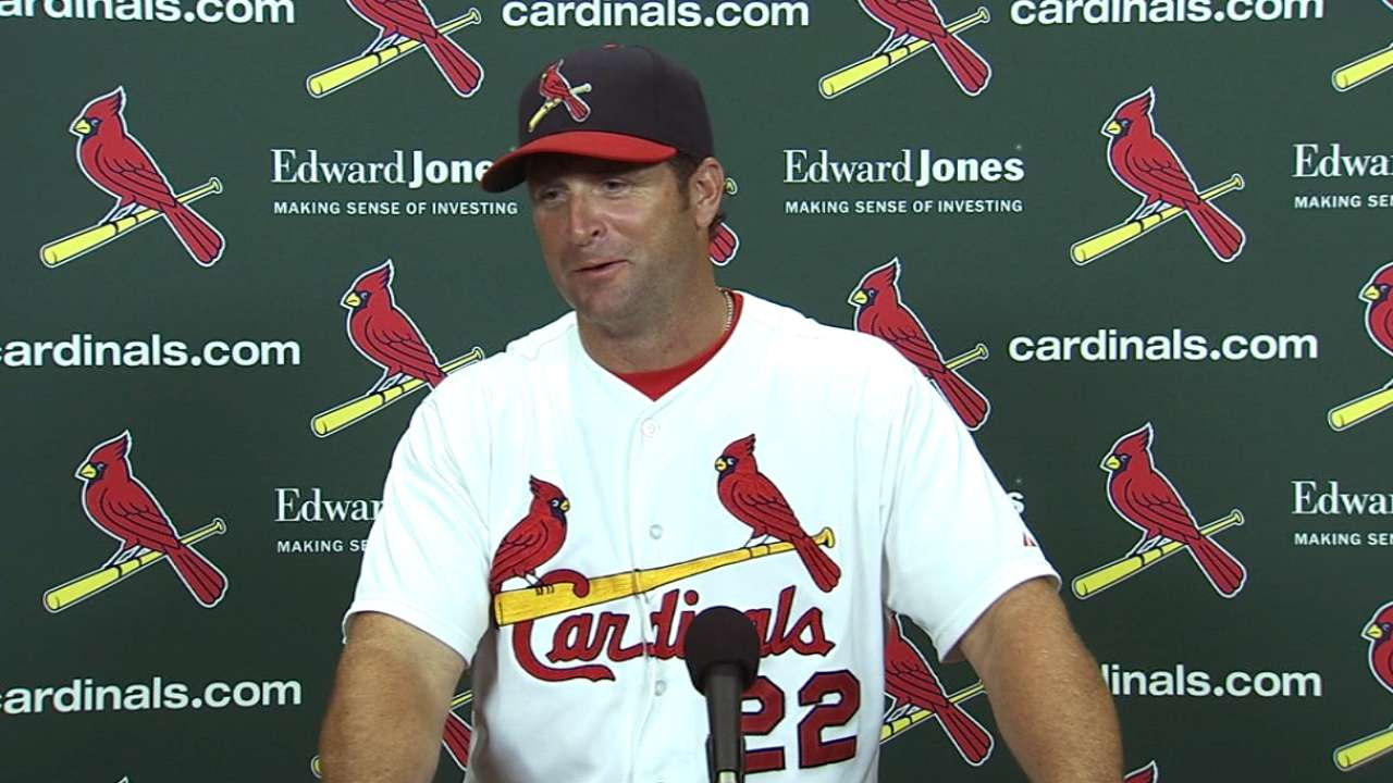 Cardinals' recall of Kozma pays off in finale