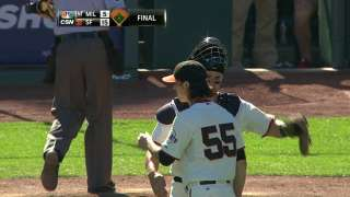 Lincecum rusty in two-inning relief outing