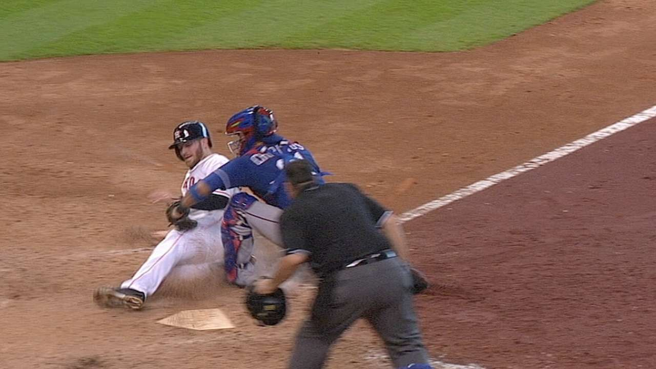 Rios' homer drought confirmed after replay review