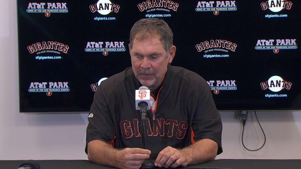 Giants' sights set above uncertain Wild Card