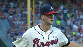 Behind Wood's gem, Braves keep pace in WC race