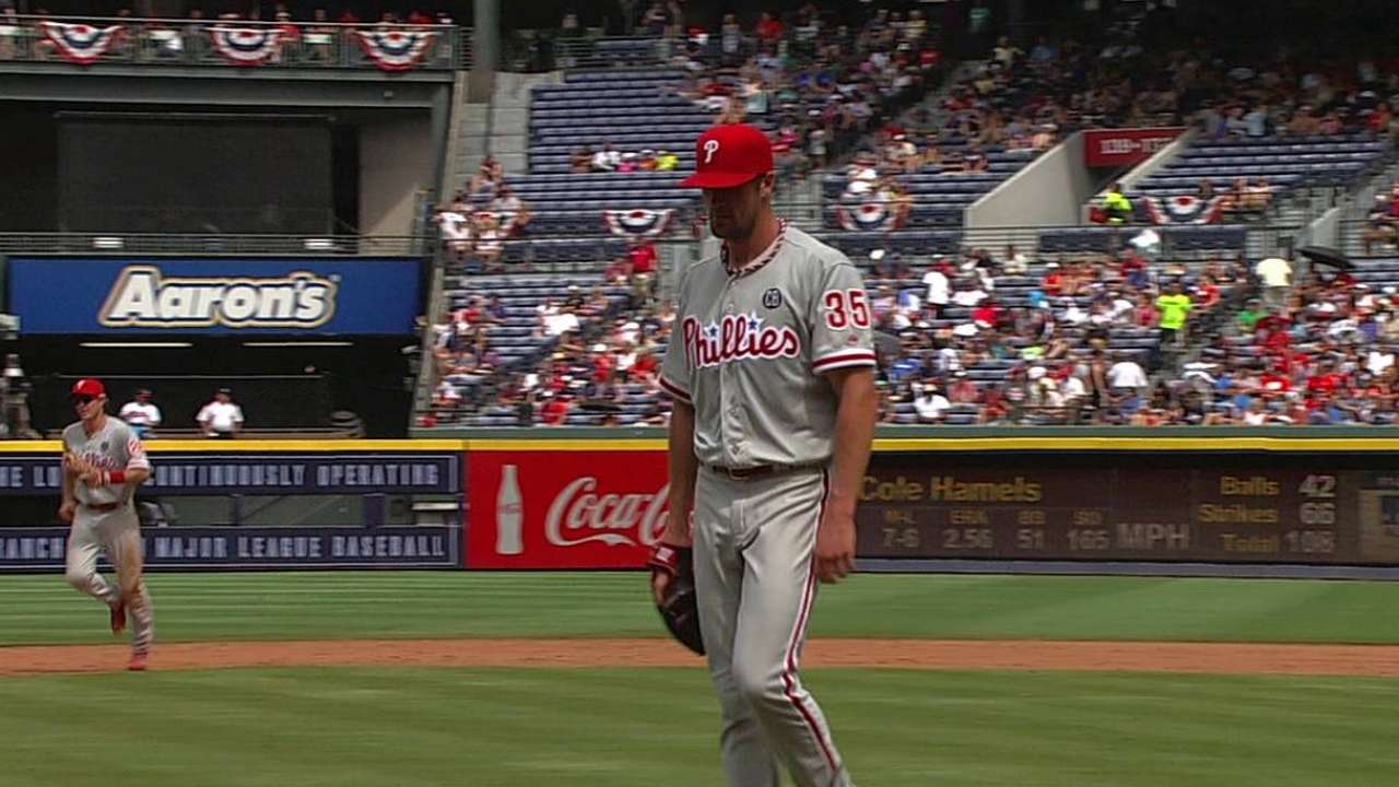 Phillies dedicate no-hitter to Montgomery