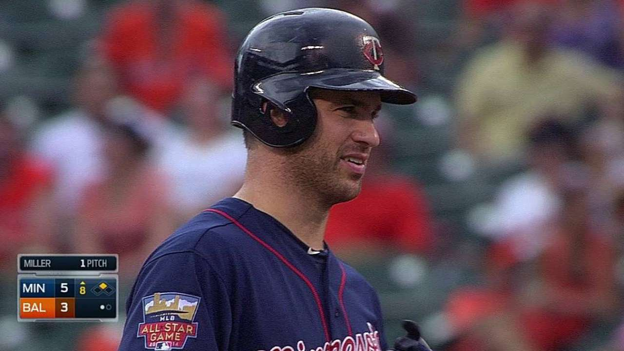 Mauer drives in four to back Hughes' solid outing
