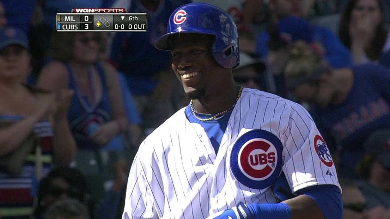 Castillo, Soler lead Cubs offense in win over Crew