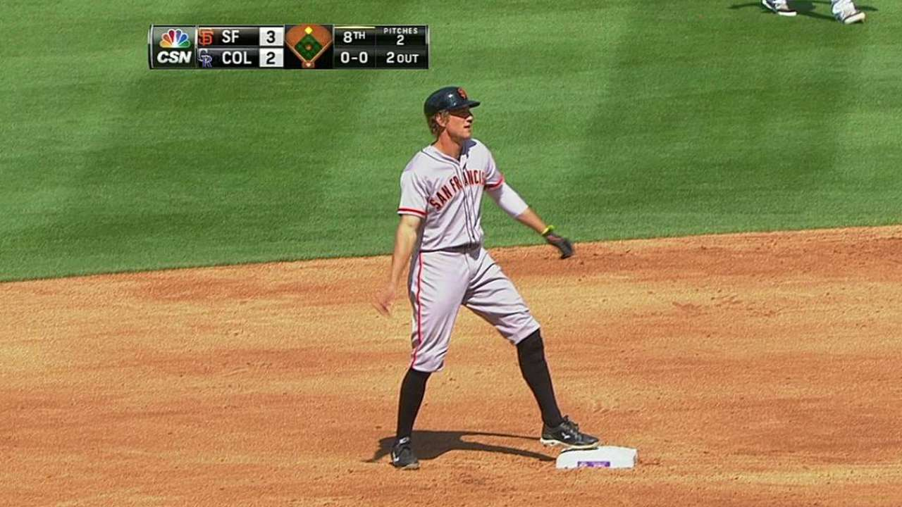 Giants get win after delay of three-plus months