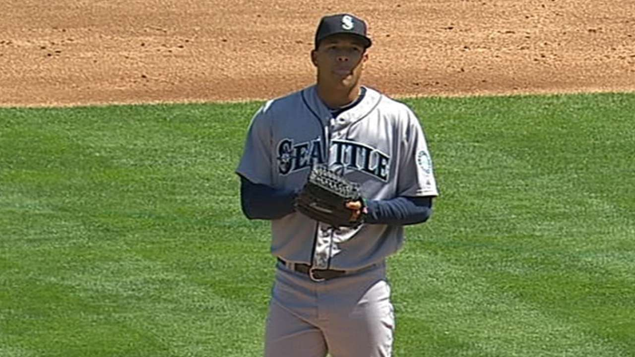 Walker eager to step up for Mariners