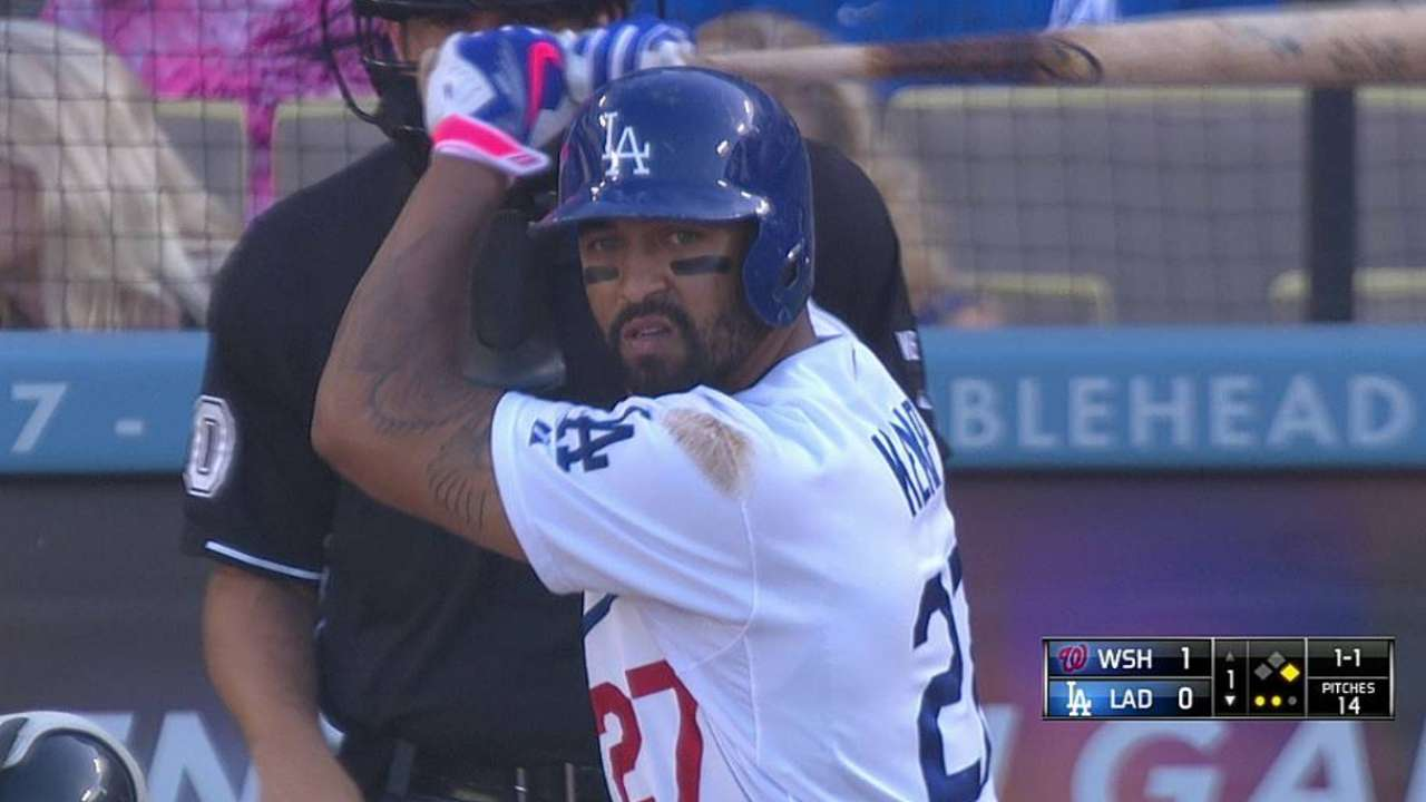 Dodgers can't keep pace with homer-happy Nats