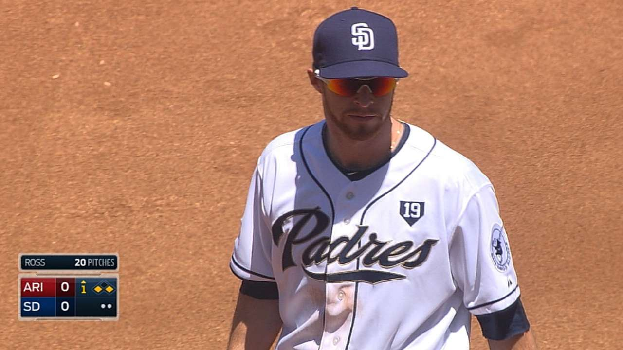 Spangenberg shines with bat, glove in debut