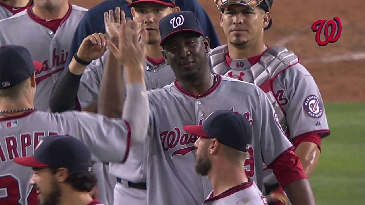 Nats' Soriano has productive bullpen session