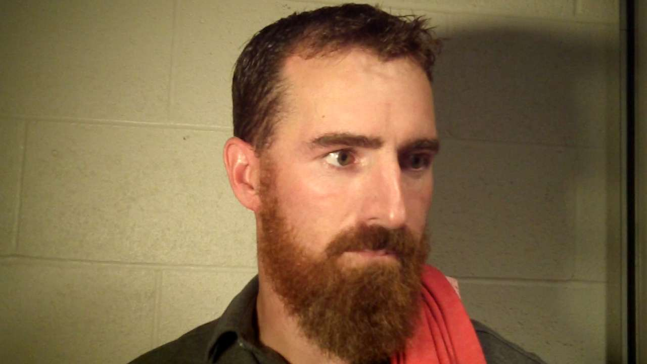 LaRoche sits, gets treatment for ailing back