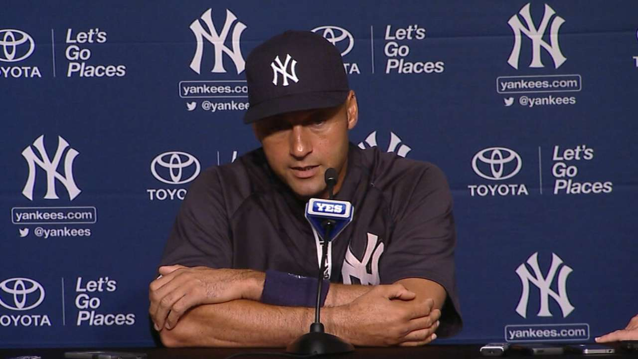 Jeter's final days a chance to say thanks