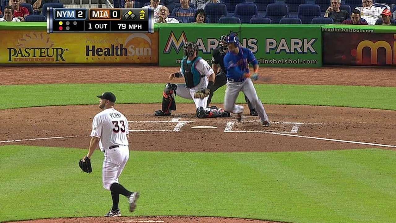 Lagares, Wright guiaron victoria de Mets en Miami