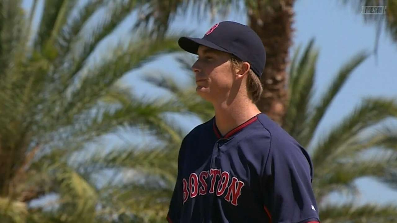 Owens unlikely to pitch for Red Sox this season