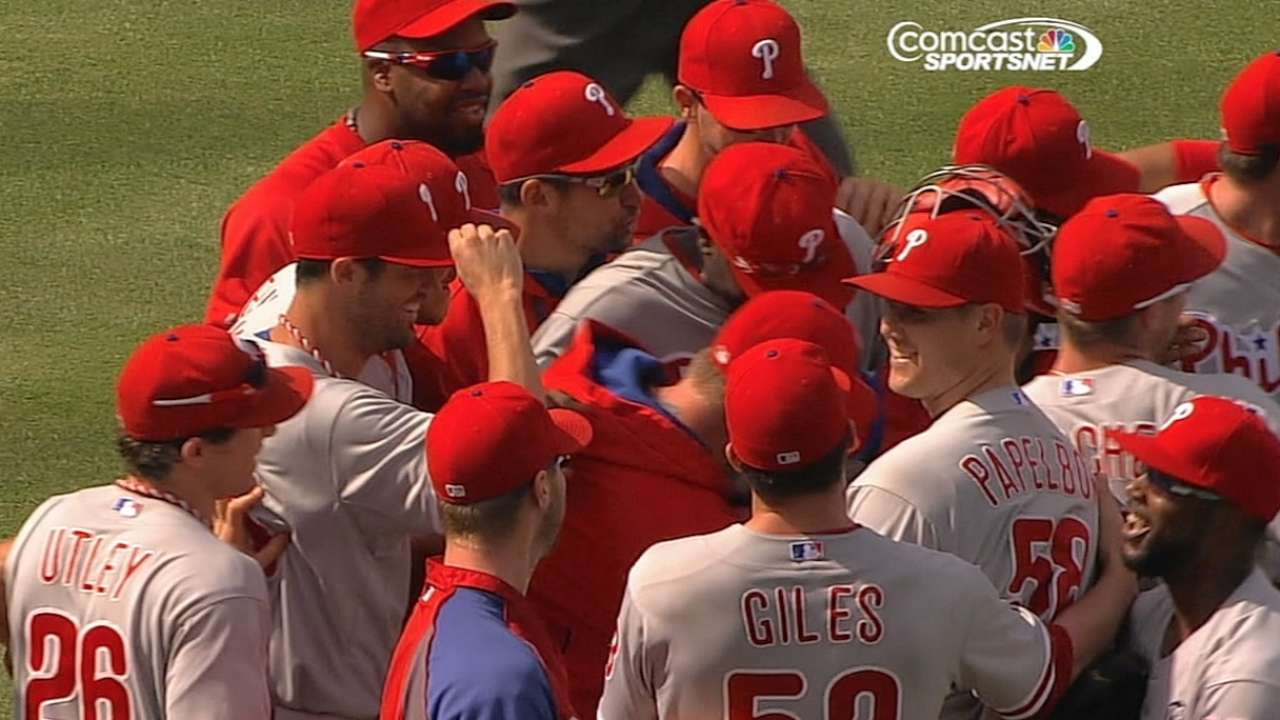 Hall of Fame getting items from Phils' no-hitter