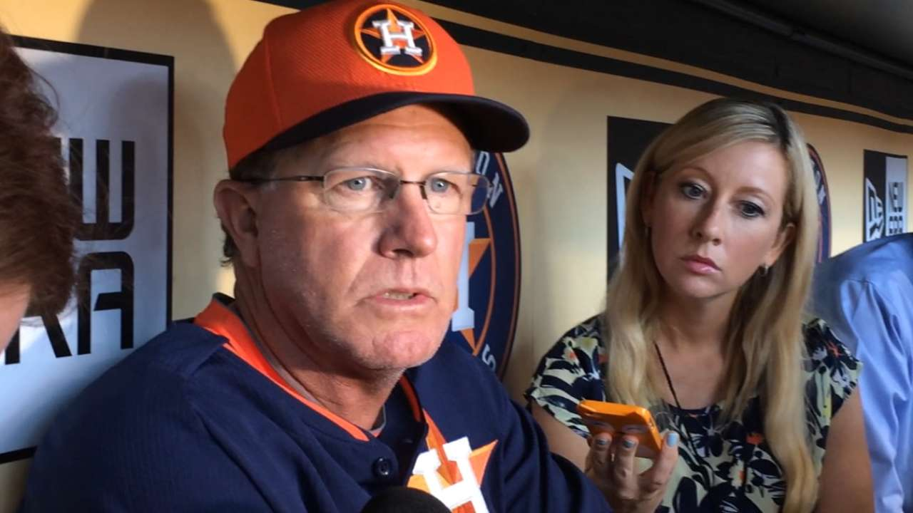 Lawless, Everett bring chemistry, synergy to Astros