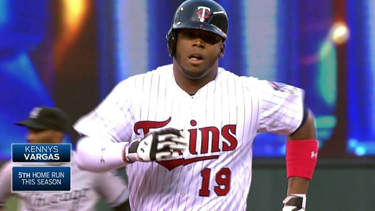 Bats quieted after early runs as Twins fall in extras