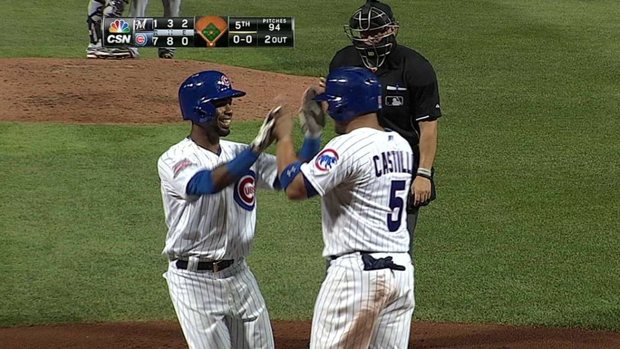Cubs' bats break out, take series from reeling Crew