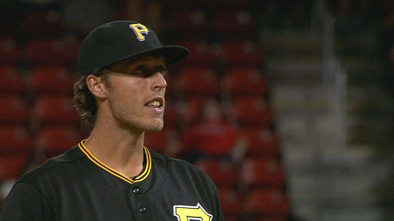 Palmball-throwing Holdzkom fans three in MLB debut