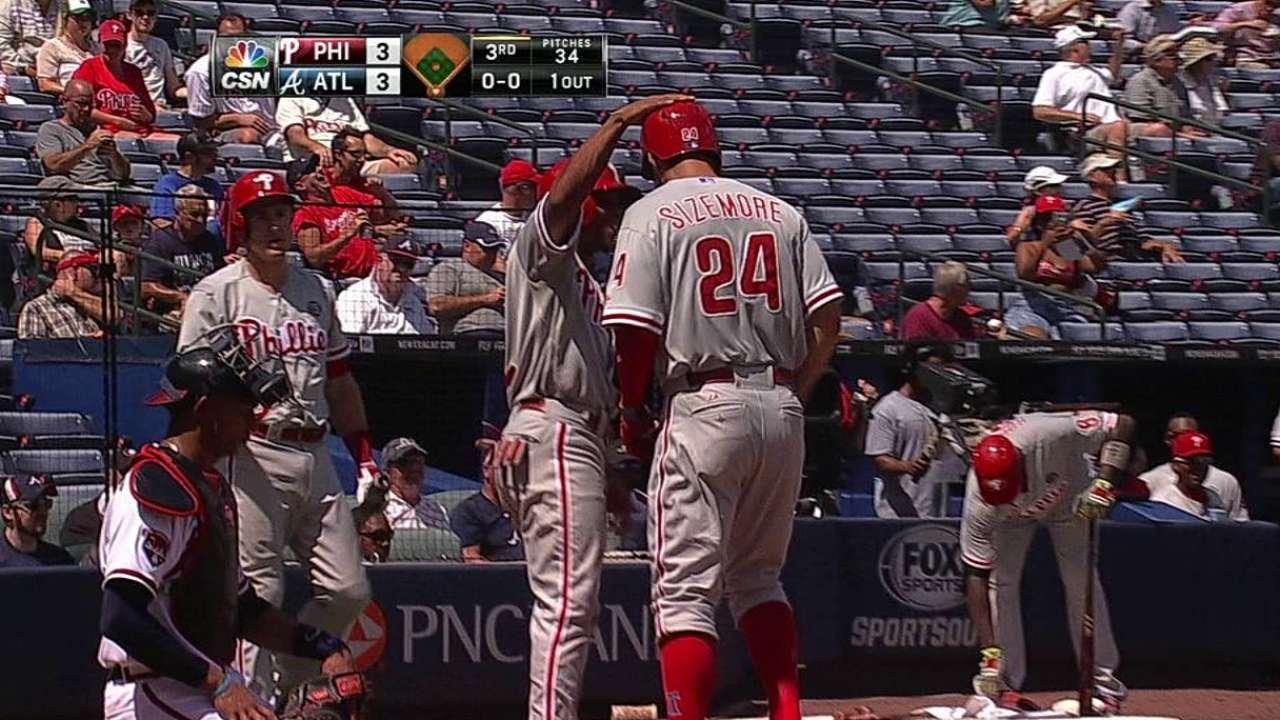 Sizemore's two-run homer