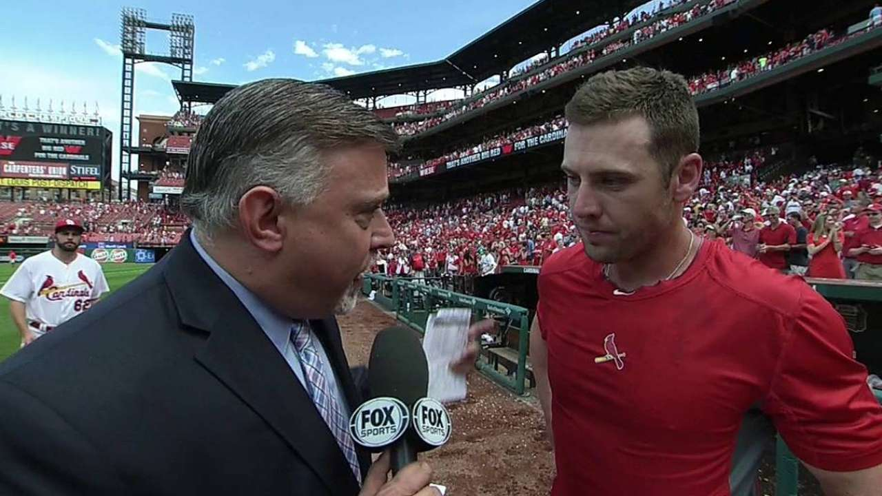 Bourjos' hard work leads to walk-off single