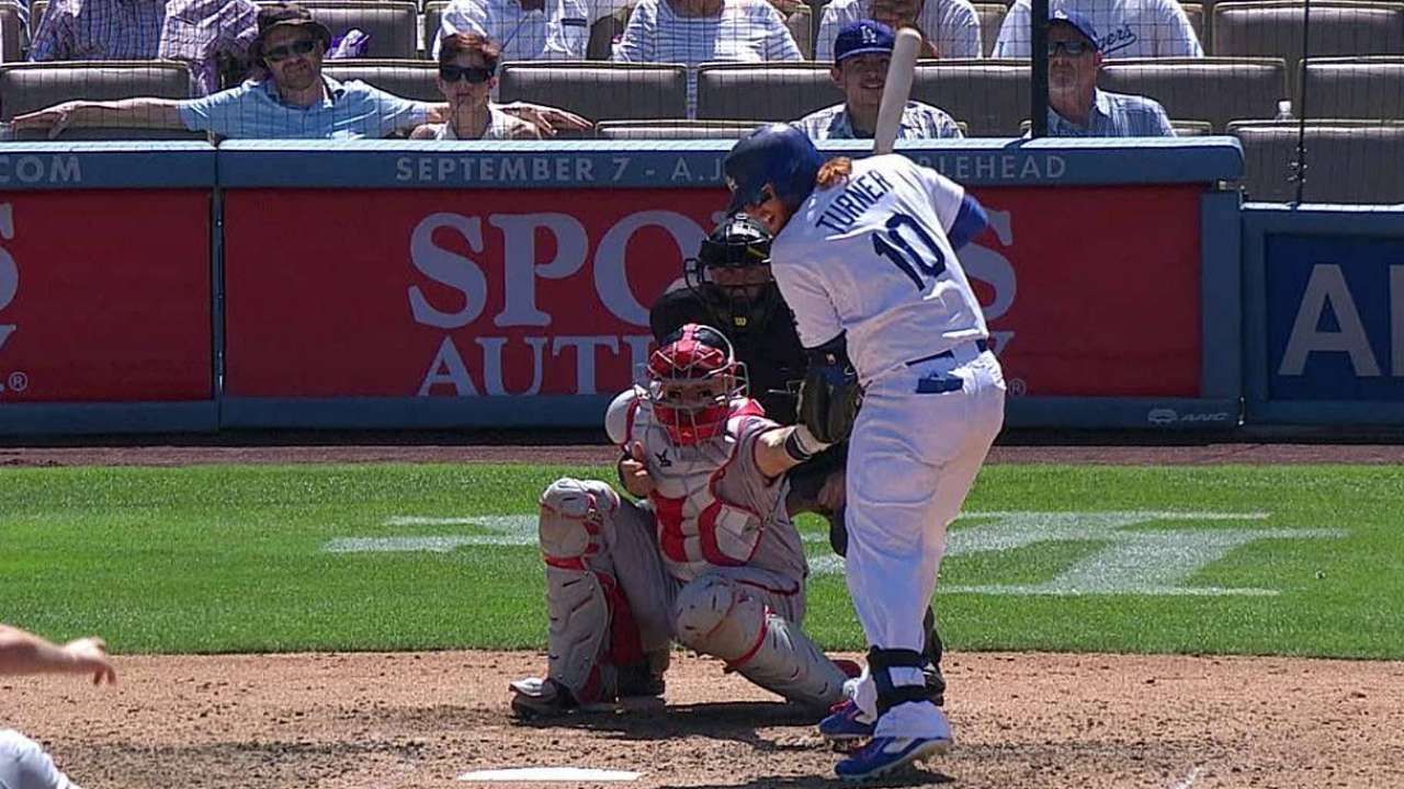 Dodgers lose challenge, follow with homer