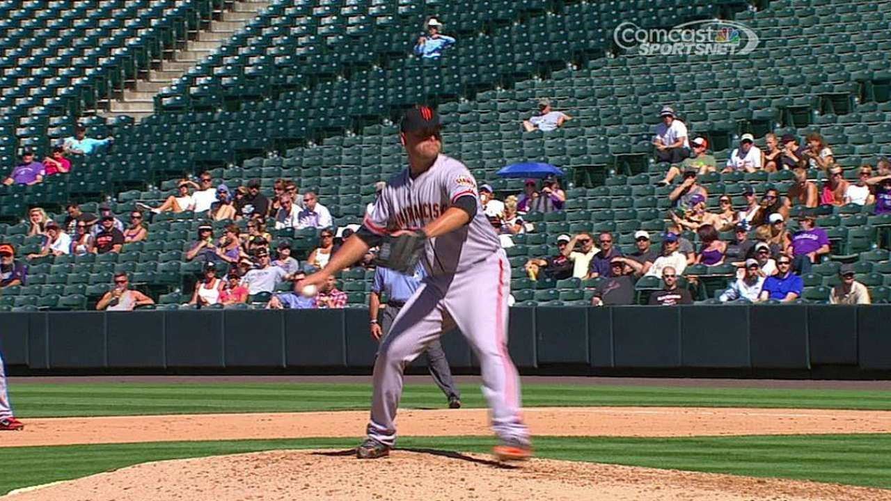 Cordier has 'intense' Major League debut
