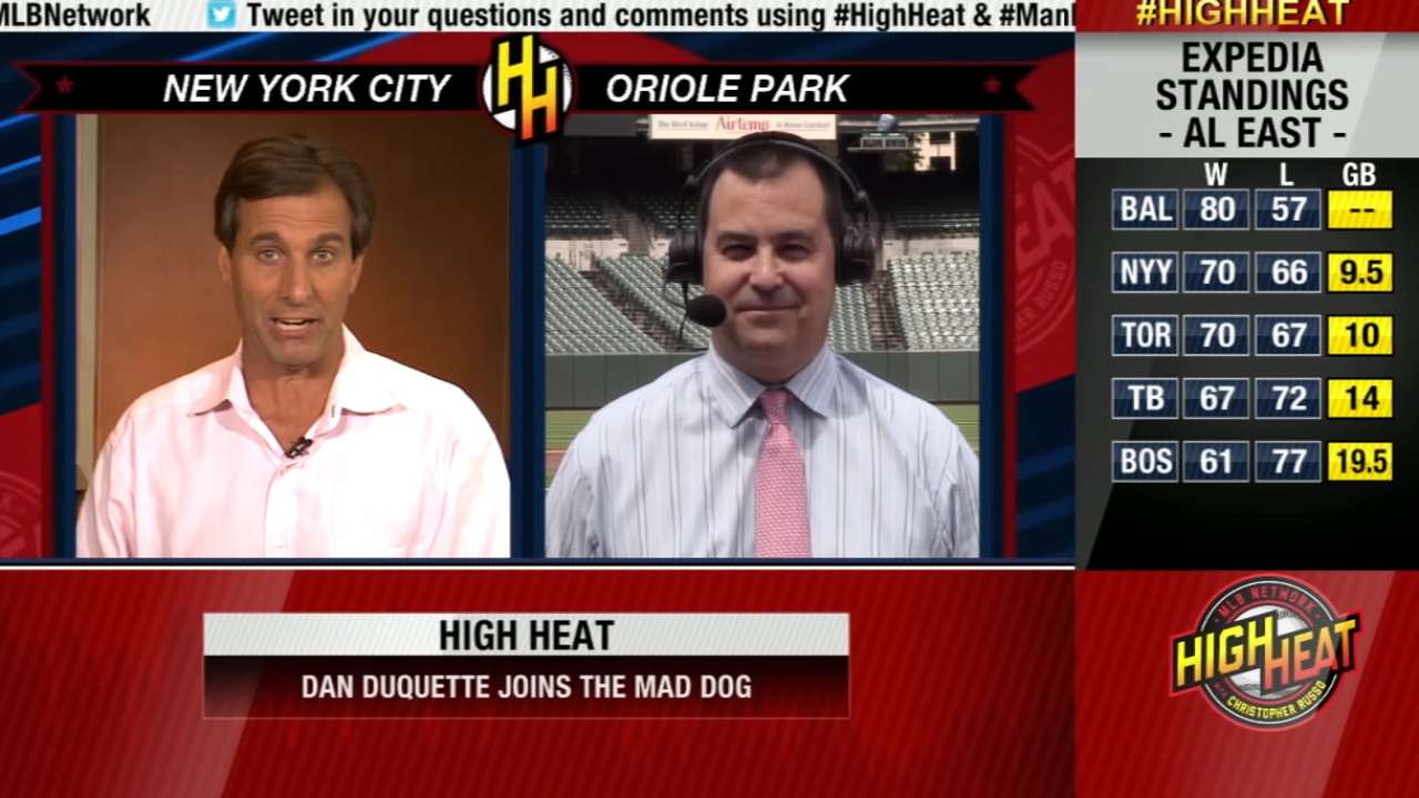 Duquette fits right in Baltimore's land of opportunities