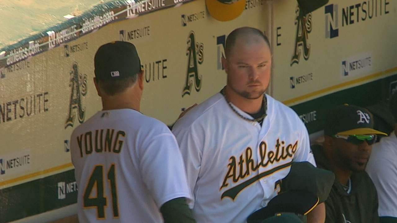 Dunn powers up, but Lester outdueled in finale