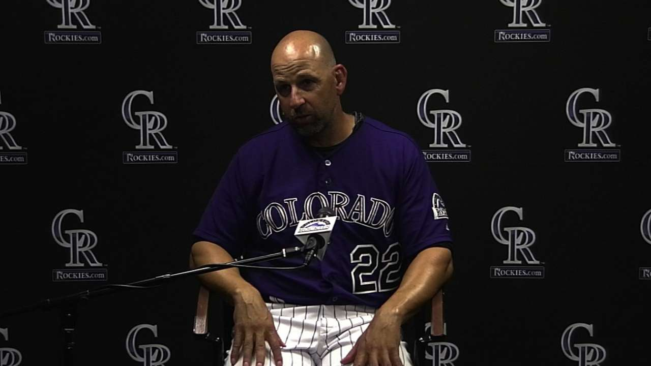 Rockies remain motivated despite West elimination