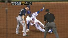 Hendricks, Soler keep rolling as Cubs sweep Brewers