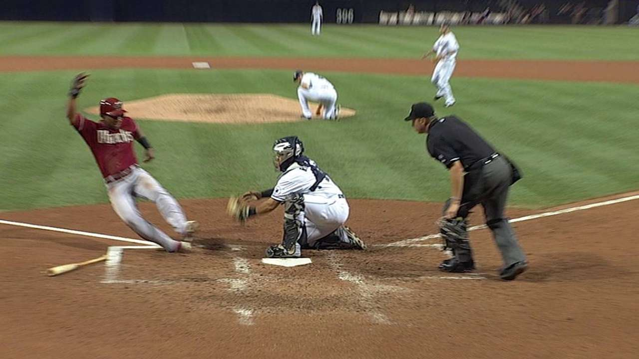 Padres lose review on D-backs' go-ahead run