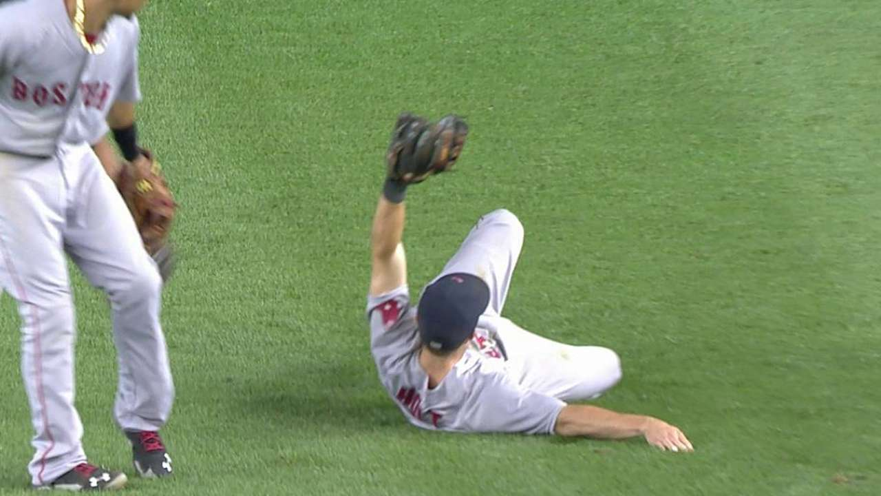 Holt's impressive grab