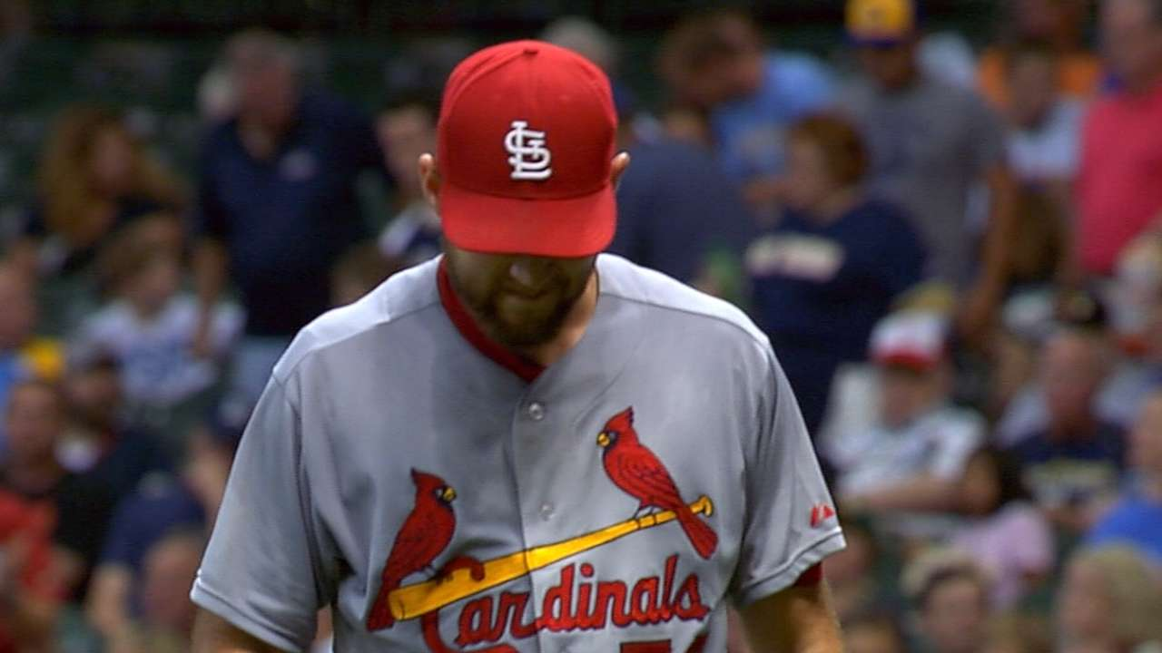 Wacha gets through three innings in return from DL