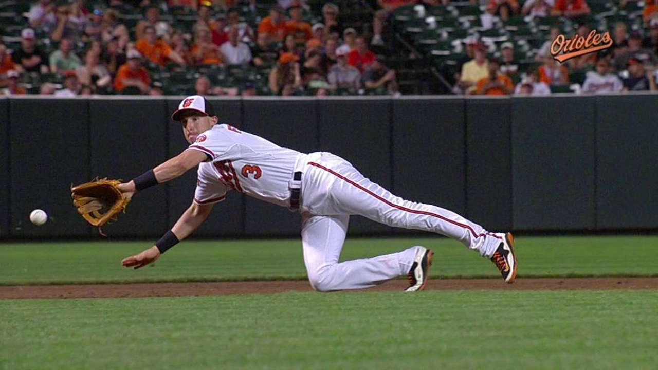 Flaherty's diving stop