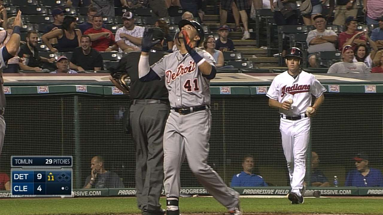 Tigers erupt in extras to get within a game of Royals