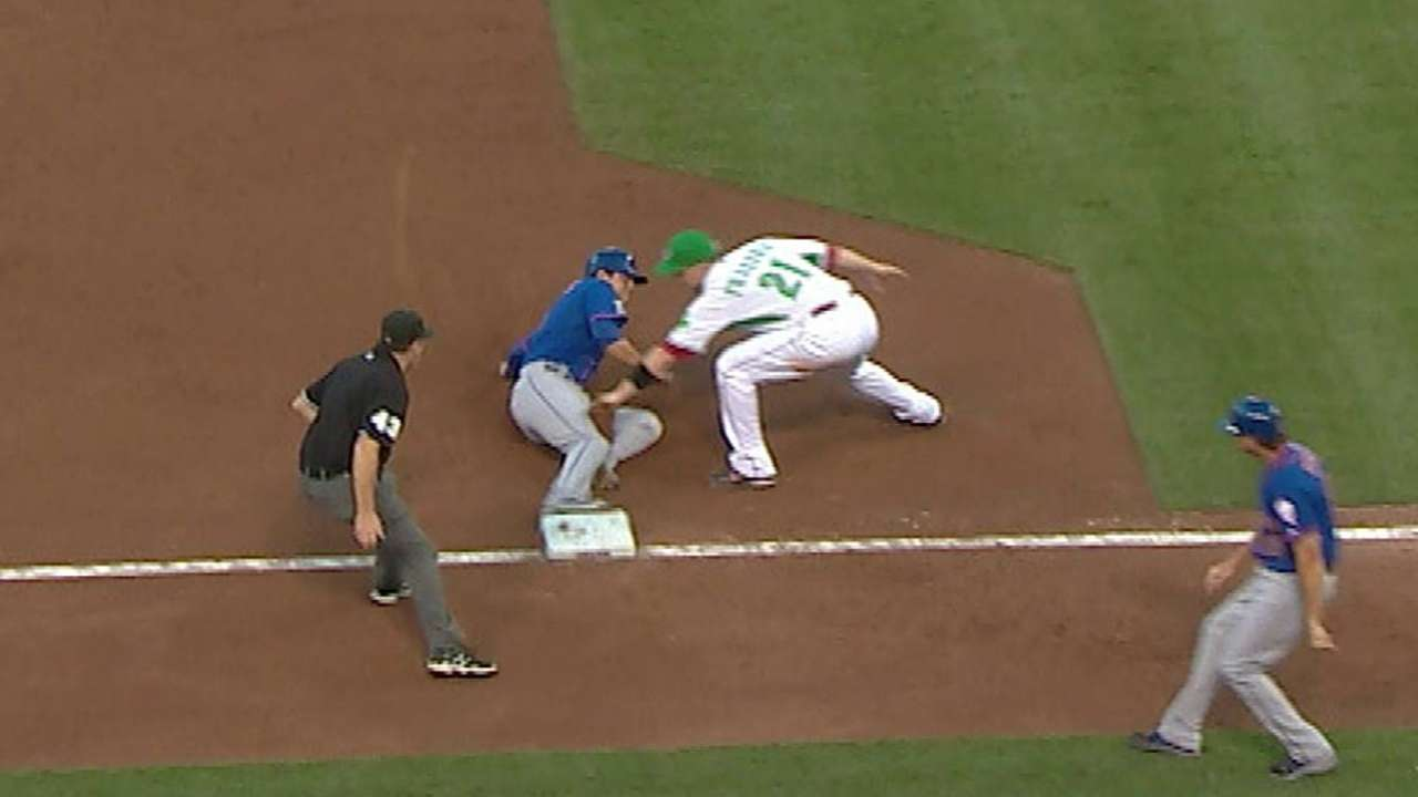 Mets get call at third base overturned vs. Reds