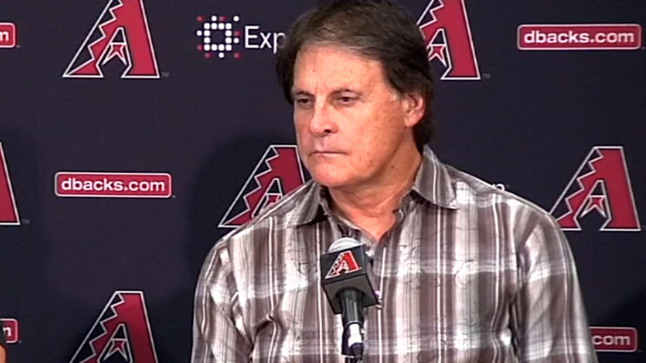 La Russa compiles initial list of GM candidates