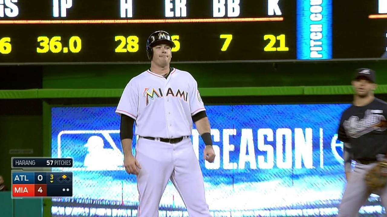 Bour provides spark in first career start at first