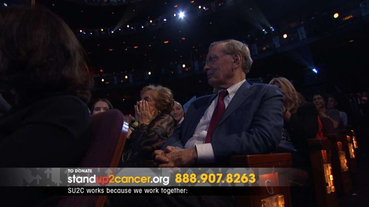 Selig honored at SU2C fundraising telethon