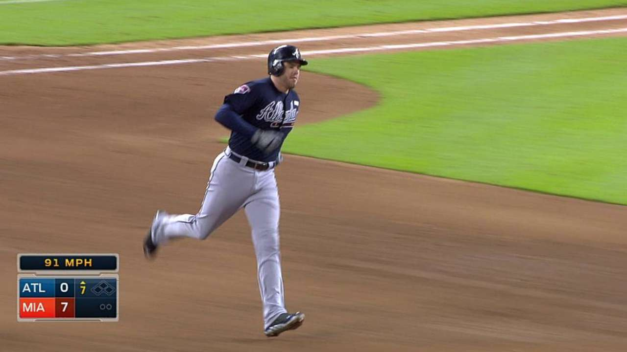 Braves contained by Cosart; Harang can't solve Miami