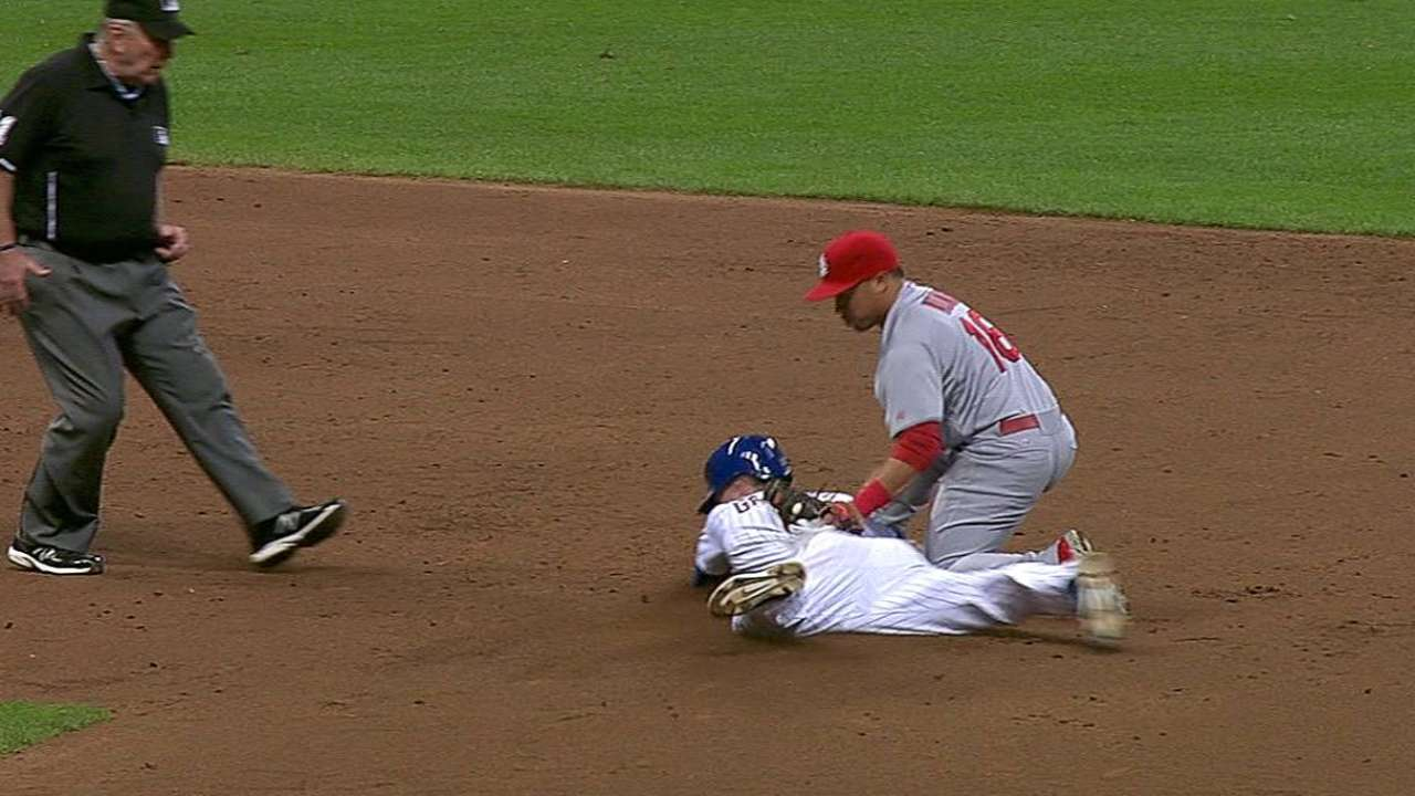 Cards get call at second overturned against Crew