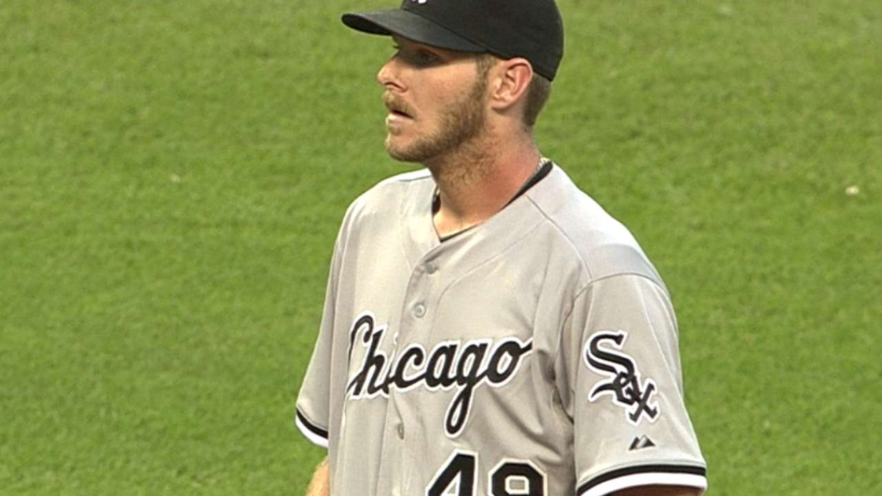 White Sox drop 10-inning duel to Indians