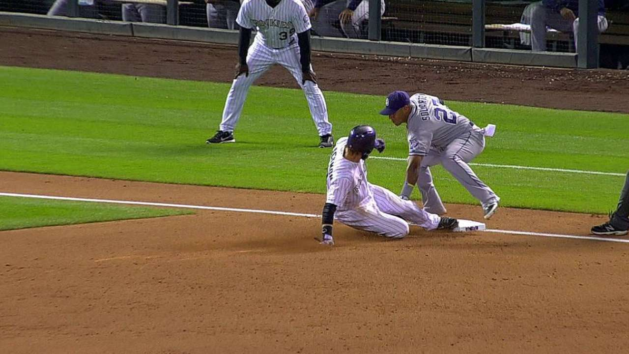 Rox lose challenge as out call at third stands
