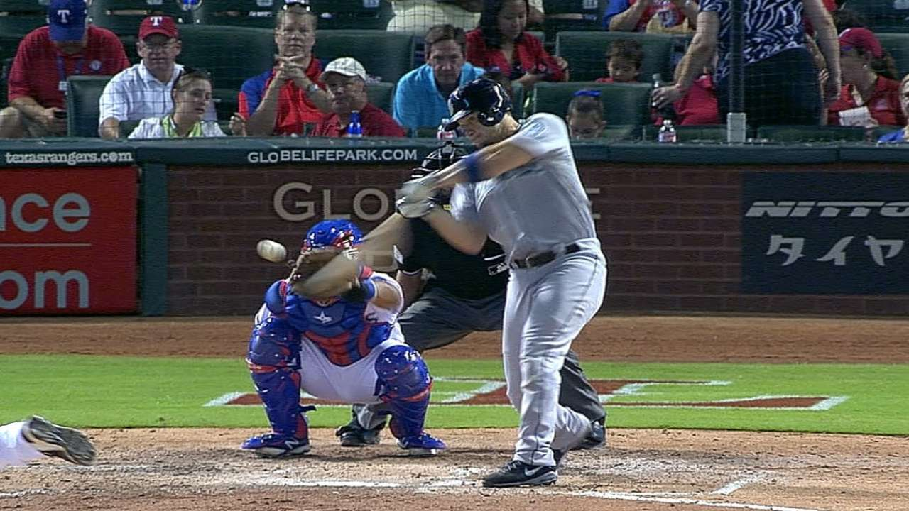 Mariners use long ball to pull ahead in Wild Card race