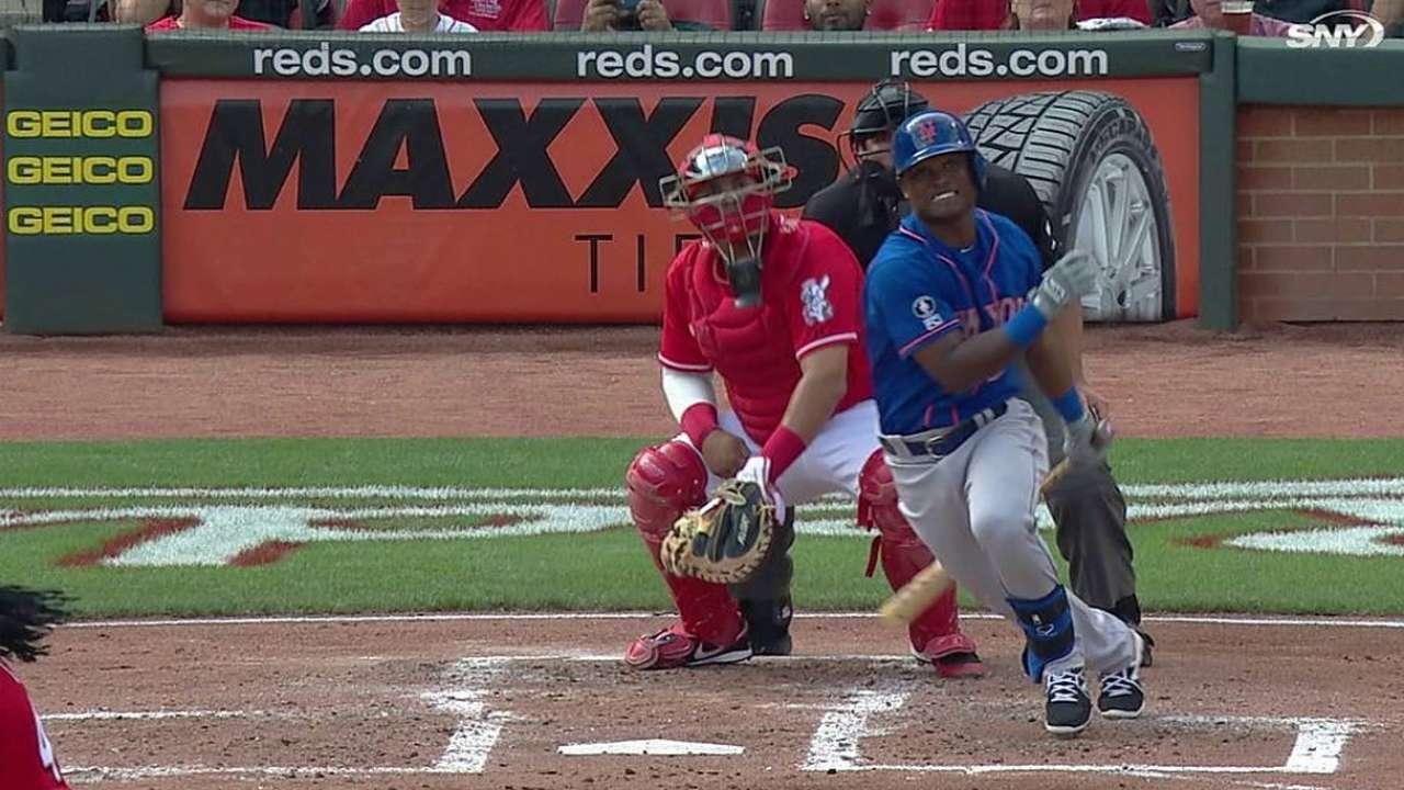 Mets fueron maniatados por Cueto y los Rojos