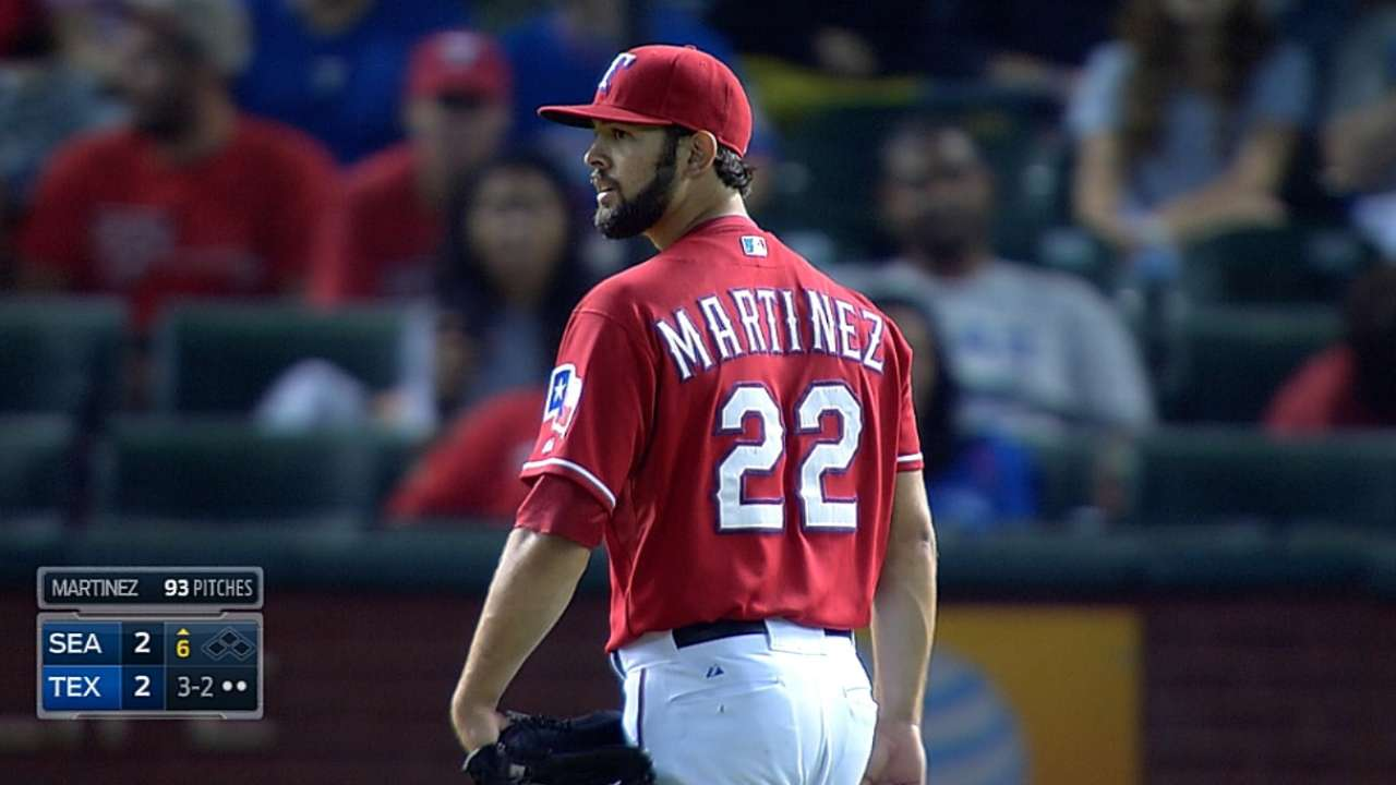 Cotts, Rangers can't stop Mariners rally
